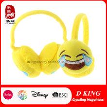 Venta caliente Laugh Cry Emoji Earmuff Plush Warm Earmuff