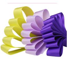 NX237 factory custom Polyester fabric luxury grosgrain  ribbon for garment label