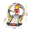 2 в 1 пластиковый мини-герой строительные блоки игрушки (10260005)