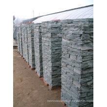 Pilar modular de ardósia natural cinza