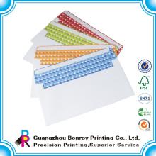 Customized design unique beautiful wedding invitation envelopes