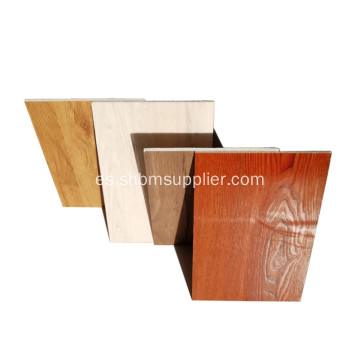 Panel decorativo de madera incombustible estilo tablero de MgO