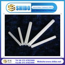Vente chaude de tuyaux en tube de céramique Alumina à haute température tubes de corindon