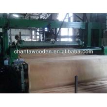 Folheado natural de madeira cortada rotativa com preço barato