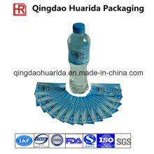 Impresión a prueba de huecograbado Etiquetas personalizadas de PVC Shrink para botellas de bebidas