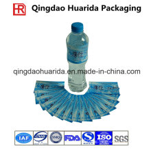 Gravure Printing Customized PVC Shrink Label for Beverage Bottles