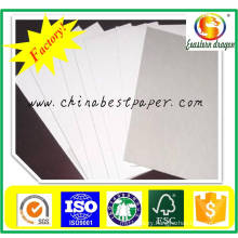 280g White Coated China Duplex Board with Grey Back Manufacture