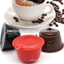 Molde de la taza del filtro de café con la buena calidad Fabricación plástica del moldeo por inyección del filtro Shell