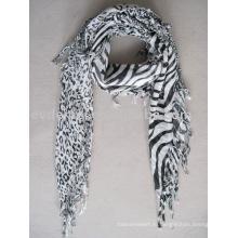 Вискозная печать Пейсли квадратный шарф