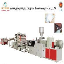 Chaîne de production rigide de feuille de PVC de PVC