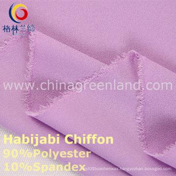 100d Polyester Chiffon Two-Way Spandex Fabric for Fashion Textile (GLLML234)