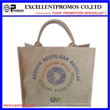 Eco-Friendly Logo Kundenspezifische Werbe-Jute Tasche (EP-B581703)