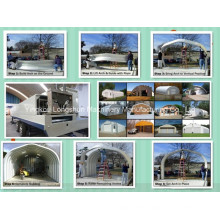 Second generation Arch roof roll forming machine