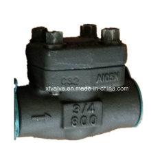 API602 Выкованная сталь углерода a105 нить проверка ДНЯО Клапан