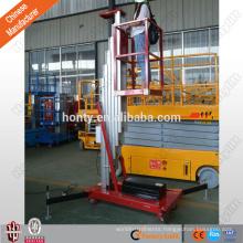 double mast aluminum mini lift sky lift vertical man lift
