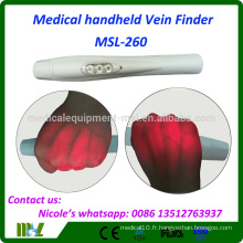 Medical Infrared Clear Vein Finder Portable MSL-260 avec Super Power Red LED Light Projection