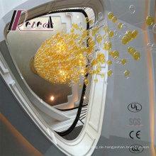Moderne neue Stil Design dekorative Hotel Projekt Strings Kronleuchter
