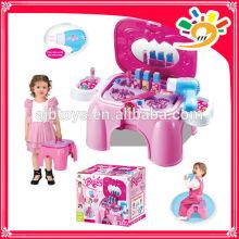 2014 Neue Artikel Kinderspielzeug STORAGE DRESSER CHAIR Beauty Set Beauty Produkt Beauty Fall