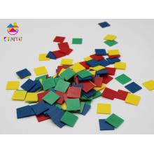 Jouets de mathématiques / Plastique Inch Color Tiles
