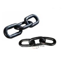 Three Ring Round Mining Link Chain