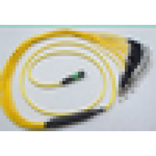 Mpo-fc водонепроницаемый волоконно-оптический патч-кабель, mpo / fc 12-ядерный / 24-канальный волоконно-оптический кабель, наружный одномодовый волоконно-оптический патч-корд