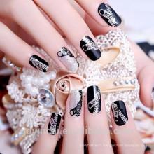 En gros de haute qualité ongles adorant autocollant de tatouage temporaire avec le prix d'usine (conceptions de tatouage personnalisé)