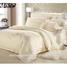 100% cotton embroidery duvet cover set
