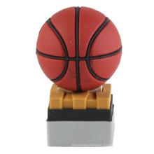 PVC Custom Basketball Shape Football USB Flash Drive (EP013)