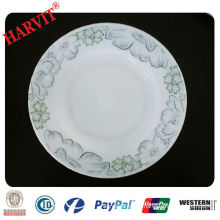 Heat-resistant Decorative Opal Glassware Soup Plate