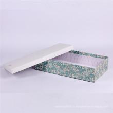 Conception de boîte de papier de mouchoir d'impression personnalisée