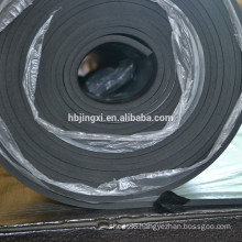 Black chloroprene rubber sheet , CR rubber sheet
