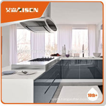 The best choice factory directly small flat pack MDF Kitchen cabinet