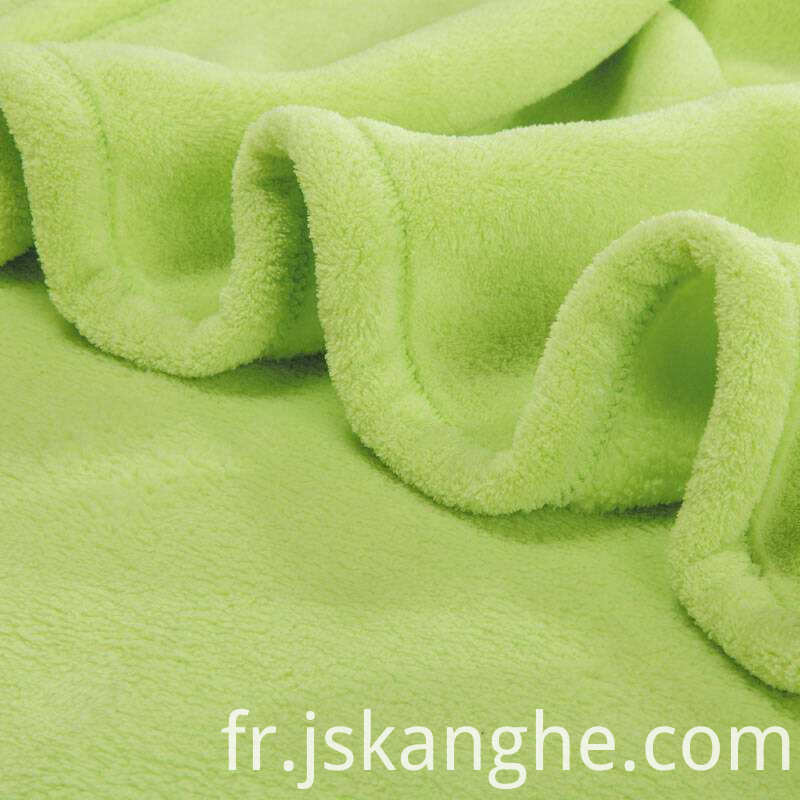 100% soft feel polyester flannel