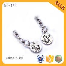MC472 Promotion zinc alloy custom gifts metal key chain with logo
