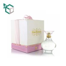 Rosa klassischer Parfüm-kundenspezifischer kosmetischer Kasten