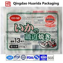 Bolso de empaquetado plástico de los alimentos congelados del embalaje de la comida del precio de fábrica
