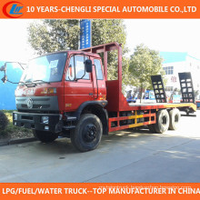 15 Ton Flat Bed Machine Equipment Transport Truck for Sale