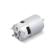 Large torque quickly speed Round Drum dc motor 12v 775