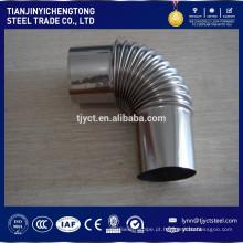 Preços 309 cotovelo de tubo de aço inoxidável