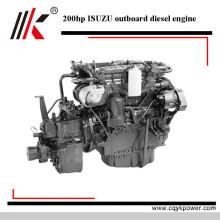 Moteur hors-bord diesel de moteur d'origine de la qualité 200 du moteur hors-bord de 4 heures