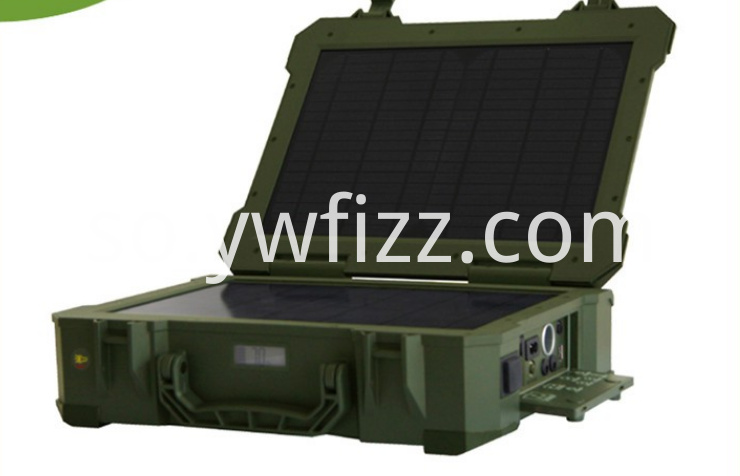 Outdoor Mobile Solar Charger