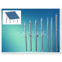 Nuevos tornillos de tierra Arrivel Czzh para montaje solar