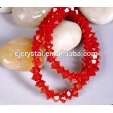 Achat en vrac de perles de verre en bicône en Chine