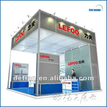 2013 Hire Exhibition Stands in Shanghai,China 6*6