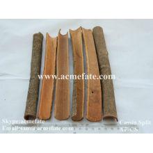 Cassia split ingredients for food cinnamon split