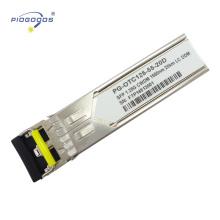 Module léger de SFP de 1.25G gigabit, longueur de lien de 2-80km et dissipation de puissance faible