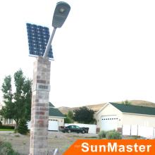 Uso de la carretera de alto brillo Aluminio LED 50W Luz de calle solar