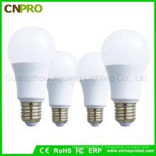 Vente en usine de haute qualité E27 ampoule à LED