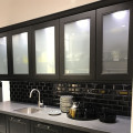 Toughened Frosted Glass For Kitchen Cabinet Doors