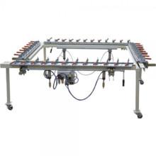 electronic silk screen printing mesh stretching machine